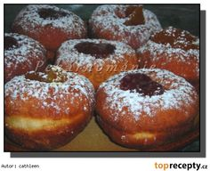Slovak Recipes, Czech Recipes, Donuts, Home Baking, Doughnut, Recipies, Food And Drink, Cooking Recipes, Sweets