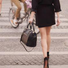 Hurry Hurry // Friday // #paris #minskatmira #black #leather #luxe #danishdesign