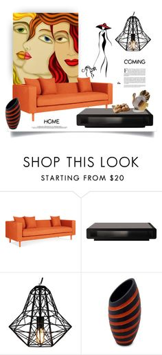 """""""Homecoming"""" by ildiko-olsa ❤ liked on Polyvore featuring interior, interiors, interior design, home, home decor, interior decorating, WALL, NOVICA and Herend"""