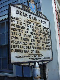 Bearskin Neck, Rockport, MA