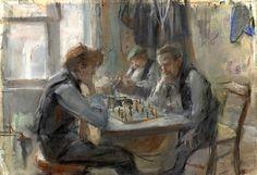 The Chess Players, Isaac Israëls