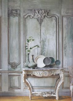 Patina on these walls