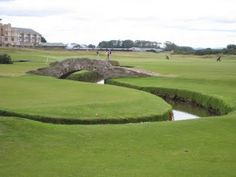 The 18th Hole at the Old Course.