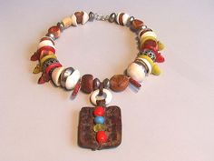 Vintage Moroccan Berber fossil amberTalhakimt by tribalgallery, $555.00