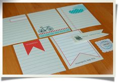 Happy Memories Journaling Cards $3