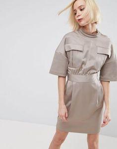 ASOS – Ultimate – Kleid im Utility-Stil