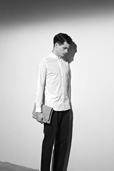 COS white dress shirt - love this look, perfect for my internship this summer