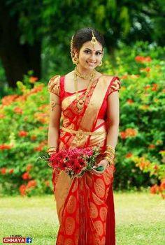 Bridal Kanjivaram Saree by ethnico at 0