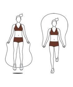 15-Minute Jump-Rope Workout Get your heart racing with a quick five-move jump-rope routine.