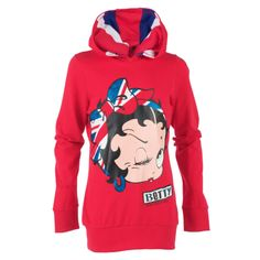 photos of betty boop clothes | Play.com - Buy Betty Boop Kids Union Hoodie (Red) online at Play.com ...