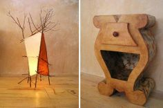 Whimsical Furniture Made From Recycled Cardboard : TreeHugger
