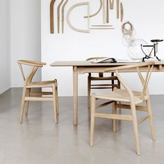 CH24 Wishbone Chair by Carl Hansen | In Collaboration with Lekker Home