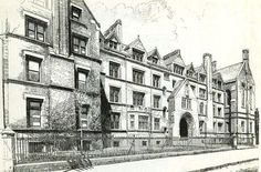 General Theological Seminary 1890 [soon to be the high line hotel in chelsea]