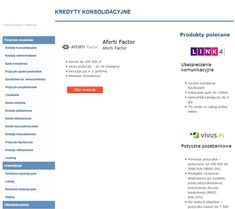 FAKTORING AFORTI FACTOR https://kubuszek.produktyfinansowe.pl/faktoring.html