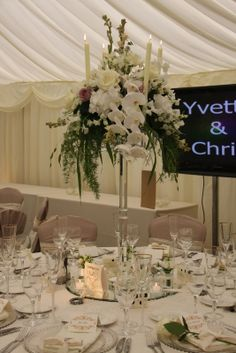 So the final part of this wonderously luscious and opulent wedding day, the ceremony is on our previous posting so if you're joining the st. Wedding Reception, Wedding Day, Crystal Candelabra, Buy Crystals, Wedding Flowers, Table Settings, Table Decorations, Home Decor, Marriage Reception