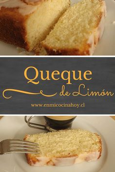 Just love its name & it's lemony, so. Food Cakes, Cupcake Cakes, Cupcakes, Chilean Recipes, Chilean Food, Sweet Recipes, Cake Recipes, Churros, Sweet Cooking