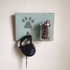 Hey, I found this really awesome Etsy listing at https://www.etsy.com/listing/177317632/leash-and-treat-holder