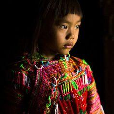 Vietnam Hmong child. Rehahn_photography