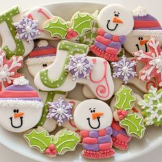 "Cookies and photo by Sweet Sugar Belle Today I have a very special guest post from my good friend, Callye, also known as Sweet Sugar Belle.  Callye always amazes me with her creativity, and she has a special talent for envisioning simple cookie cutter shapes as new and creative designs!  Callye recently created this amazingly sweet set of ""Joy"" cookies, and …"