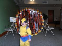 JMS Library Children's Department: Superhero Training Camp.