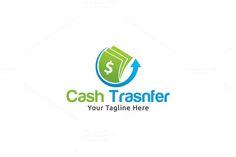 Money Transfer Logo by Martin-Jamez on Creative Market