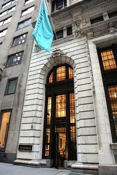 Tiffany & Co., 37 Wall Street, New York City. August 14, 2014.