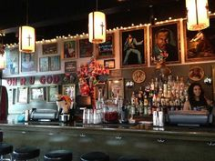 vintage themed bars - Google Search