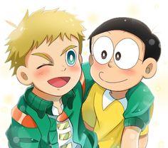 Baby Cartoon Drawing, Cartoon Drawings, Best Friend Songs, Best Friends, Boy Cartoon Characters, Fictional Characters, Doraemon Cartoon, Anime, Kawaii