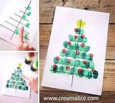 Homemade Christmas cards from the kids. Christmas Arts And Crafts, Homemade Christmas Cards, Christmas Tree Cards, Preschool Christmas, Christmas Activities, Christmas Projects, Preschool Crafts, Holiday Crafts, Christmas Holidays