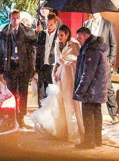Royal wedding in Gstaad of Andrea Casiraghi and Tatiana Santo Domingo 2/1/2014