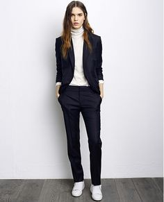 Suit jacket VOEVEN - Colour DARK NAVY