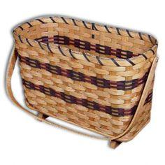Handmade Magazine Basket