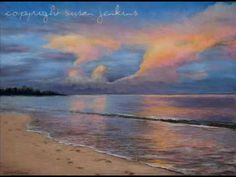 "▶ A pastel painting demo by Susan Jenkins / ""Shore of Solitude"" - YouTube"
