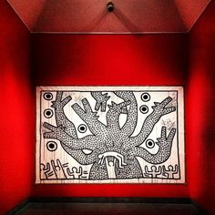 Keith Haring's retrospective @ Brooklyn Museum is amazing. Keith Haring Art, James Richards, Memphis Art, Robert Motherwell, Birth And Death, Mark Rothko, Norman Rockwell, Graffiti Art, American Artists