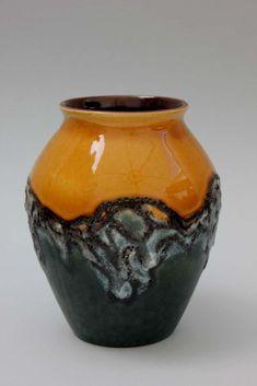 Vase mit Lavaglasur Fat Lava - Carstens Tönnieshof  | eBay