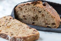 No Knead Bread: schnelles Brot ohne Kneten - Rezept-Varianten No Knead Bread, Banana Bread, Desserts, Chef, Food, Quick Bread, Yogurt, Tailgate Desserts, Deserts