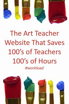 The Arty Teacher - Time Saving Resources : The Arty Teachers helps art teachers around the globe save time and claim their life back! What are you waiting for? High School Art, Middle School Art, Art Classroom Management, Art Du Monde, Art Curriculum, School Art Projects, Art Lessons Elementary, Art Lesson Plans, Art Plastique
