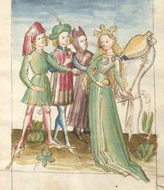 Bellifortis VerfasserKyeser, Conradus  ErschienenElsaß, [um 1460] Ms. germ. qu. 15  Folio 184r