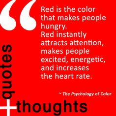 Quote about the color red.