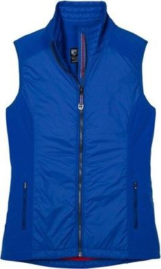 801c57aca844 KUHL Women s Firefly Insulated Vest Pacific Blue XL