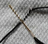 huck weaving (aka swedish weaving) instructions - diamond stitch