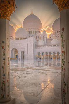 World Ethnic & Cultural Beauties, luxuriousimpressions: Glow By Julian John Mosque Architecture, Religious Architecture, Beautiful Architecture, Beautiful Buildings, Art And Architecture, Mecca Wallpaper, Quran Wallpaper, Islamic Wallpaper, Nature Wallpaper