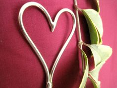 Heart  Hair Stick by TheBronzeJewelers (not Celtic but pretty)