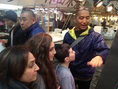 Tokyo Food Tour by the author of food sake tokyo Shinji at Tsukiji Dolinsky 3