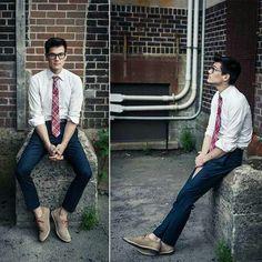 Tartan tie...schoolboy chic