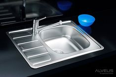 AS-Zool 10 stainless kitchen sinks Stainless Steel Double Sink, Stainless Kitchen, Kitchen Sink Organization, Sink Organizer, Cast Iron Kitchen Sinks, Composite Kitchen Sinks, Inset Sink, Cleanser, Home Decor Accessories