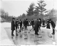 Toronto Samual Rennie family curling swansea 1904
