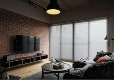 INTERIOR | 35평 레트로 로프트 st. 아파트 인테리어 :: 더하우스