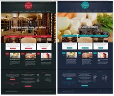 Restaurant Website Design  Fully functional Restaurant website to support operations and management. Everything that a restaurant needs to operate with efficiency