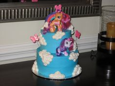My Little Pony Birthday Cake | fOr THe lOvE oF CakE~: My Little Pony Birthday Cake